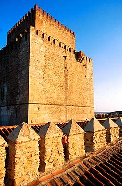 Parador (state-run hotel), old castle, Ciudad Rodrigo, Salamanca province, Spain