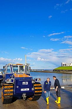 Seahouses, Lifeboat, Northumberland.U.K.