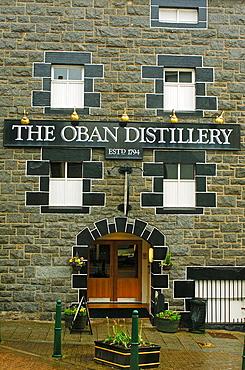 Oban whisky distillery (1794), West Highlands, Argyll & Bute, Scotland, UK