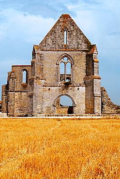 Abbaye N.D, des Chatelier, Rivedoux, Ile de Re, Poitou-Charentes, Charente-Maritime, France.