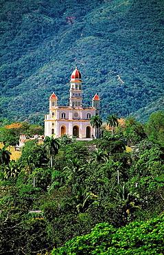 Basilica of the Virgen de la Caridad del Cobre near Santiago de Cuba, Cuba