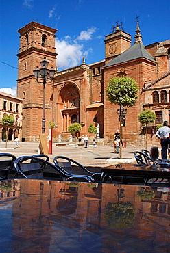 Parish Church of San Andres, Villanueva de los Infantes, Castilla La Mancha, Spain