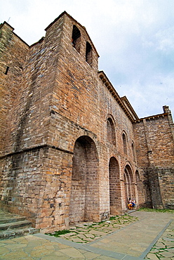 Church of San Pedro, Siresa town, Huesca, Aragon, Spain