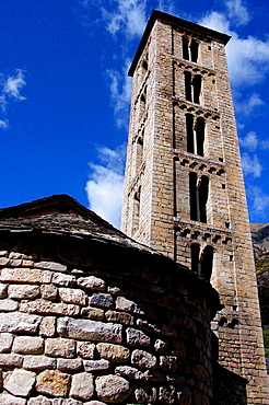 Santa Eulalia Church, Erill-la-Vall, Vall de Boi, Pyrenees Mountains, Lleida province, Spain