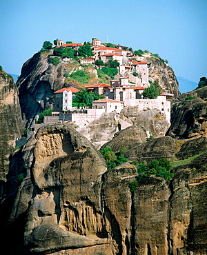 Varlaam and Megalo Meteoro monasteries, Meteora, Thessaly, Greece