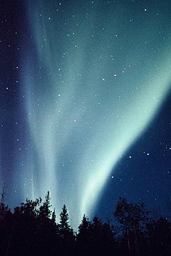 Northern lights, Alaska, USA