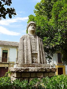 Cordoba Espana  Monumento a Al-Hakam II o Alhaken II en el Campo Santo de los Martires de la ciudad de Cordoba  Monument to Al-Hakam II or Alhaken II in the Sacred Field of the Martyrs of the city of Cordoba