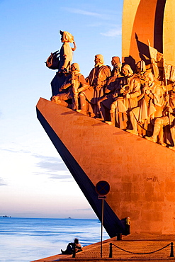Monument to the Discoveries, Belem, Lisbon, Portugal.