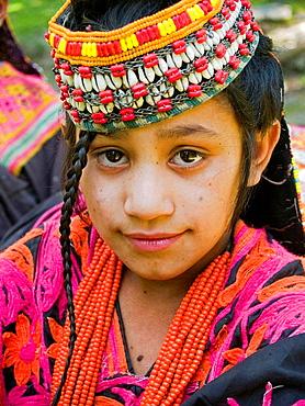 Kalasha girl, Pakistan