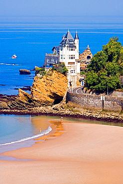 Villa Belza, Biarritz, France.