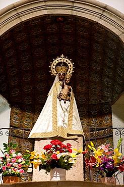 Virgen La Morenita,Las Batuecas-Sierra de Francia Natural Park,El Cabaco,Salamanca,Spain