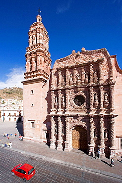 Zacatecas City, The Cathedral, Mexico.