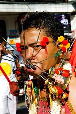 Sceens of Phuket's Vegetarian festival