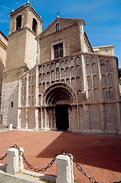 Santa Maria in Piazza church, Ancona, Marche, Italy