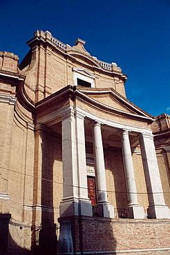 Church del Gesu (XVII century), Architect Luigi Vanvitelli, Ancona, Marche, Italy