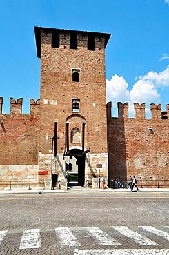 Italy, Veneto, Verona, Castelvecchio, Castle