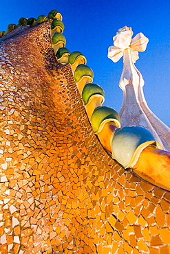 Casa Batllo, by Antoni Gaudi, Barcelona, Spain