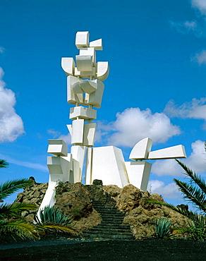 Monumento al Campesino (Monument to the Peasant), by Lanzarote artist Cesar Manrique, Lanzarote, Canary Islands, Spain