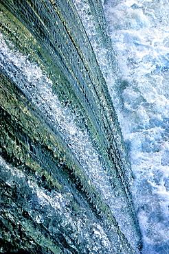 Reservoir, Rhone river, France
