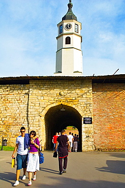 Stambol gate in Kalemegdan citadel in Belgrade Serbia Europe