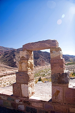 Pucara of Tilcara, Humahuaca gully, Jujuy, Argentina