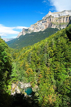 Ordesa canyon,Ordesa and Monte Perdido national park,Huesca province,Aragon,Spain
