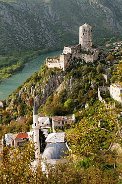 Pocitelj, a little fortress town on the road just south of Mostar in Bosnia and Herzegovina
