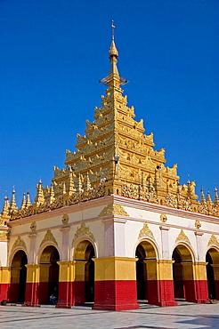 Myanmar (Burma) Mandalay Mahamuni Paya (Great Sage Pagoda) Main central stupa