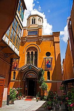 Romanian Orthodox Cathedral, Catedrala Ortodoxa Sfanta Adormire a Maicii Domnului, Piata Sfatului, Brasov, Romania