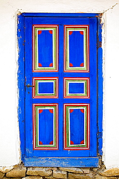 Door of building, Muzeul National al Satului Dimitrie Gusti, Ethnographic Village Museum, Bucharest, Romania