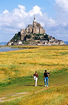 Le Mont-St-Michel, Normandy, France
