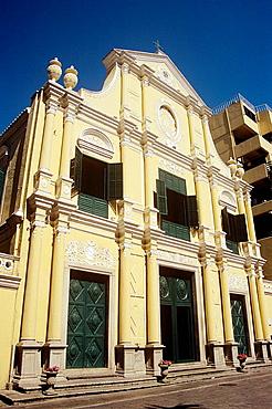 Saint Dominics Church, Leal Senado Plaza, Macau, China