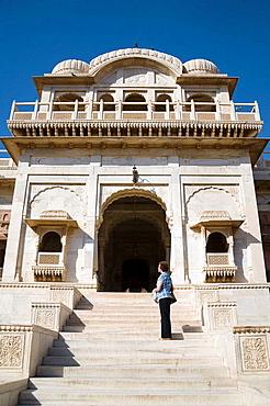 Shri Raj Ratan Bihari Mandir Temple, Bikaner, Rajasthan, India