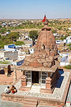 Chandi Ka Temple within the Sachiya Mata Temple complex, Osian, near Jodhpur, Rajasthan, India