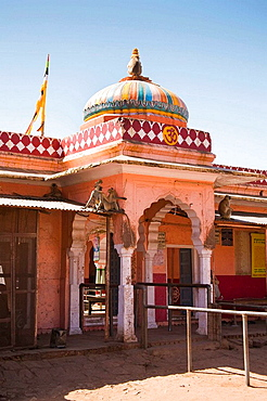 The Ganesh Temple in Ranthambhore Fort, Ranthambhore National Park, Rajasthan, India
