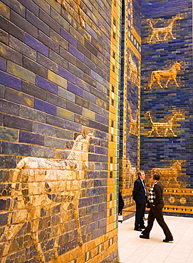 Mesopotamia animals, Ishtar Gate at Pergamon Museum Berlin Germany