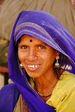 Woman from Hampi Leh, Ladakh, India