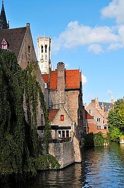 Rozenhoedkaai  Medieval town of Bruges, Belgium  Brugge