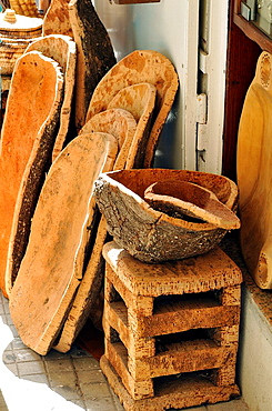 Craft Cork  Alghero typical product  Alghero, island of Sardinia, Sassari province, Italy, Europe