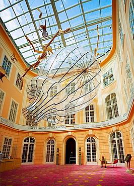 Austria, Vienna, Albertina interior display