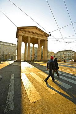 Ticino Gate (Porta Ticinese), Milan, Lombardy, Italy