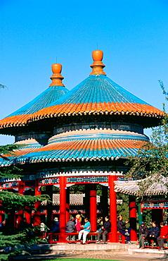 Double Longevity Pavilion, Tiantan Park, Beijing, China