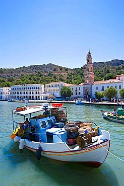 Panormitis Bay, Simi, Dodecanese islands, Greece