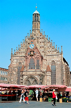 Frauenkirche (Our Ladys Church), Nuremberg, Bavaria, Germany