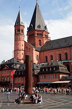 Germany, Rhineland-Palatinate, Mainz, Dom, Cathedral