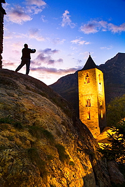 Sant Joan de Boi Romanesque church Boi Valley, Pyrenees Mountains Lleida province Catalunya Spain