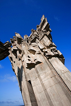 Lithuania, Central Lithuania, Kaunas, Ninth Fort Monument, memorial to Nazi concentration camp in World War Two