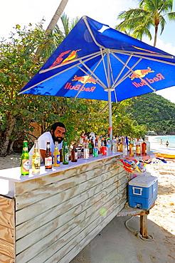 Beach Bar Cane Garden Bay Tortola BVI Caribbean Cruise