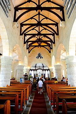 St James Anglican Church Interior Bridgetown Barbados Caribbean Cruise NCL