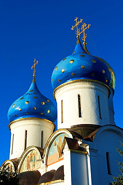 Russia, Moscow Oblast, Sergiyev Posad, Trinity Lavra of St Sergius, UNESCO World Heritage Site, Golden Ring